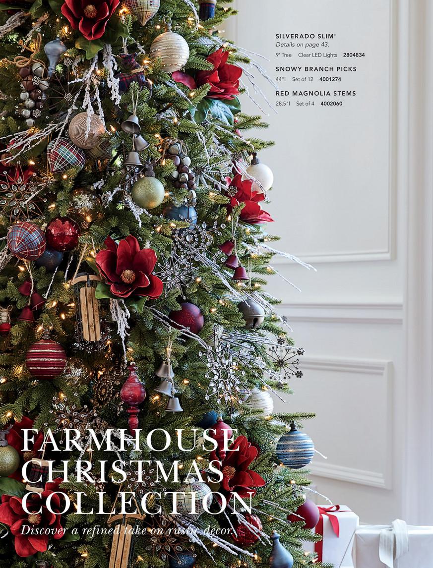 Balsam Hill 2019 Holiday 2 Set Of 25 Farmhouse Christmas Ornament Set